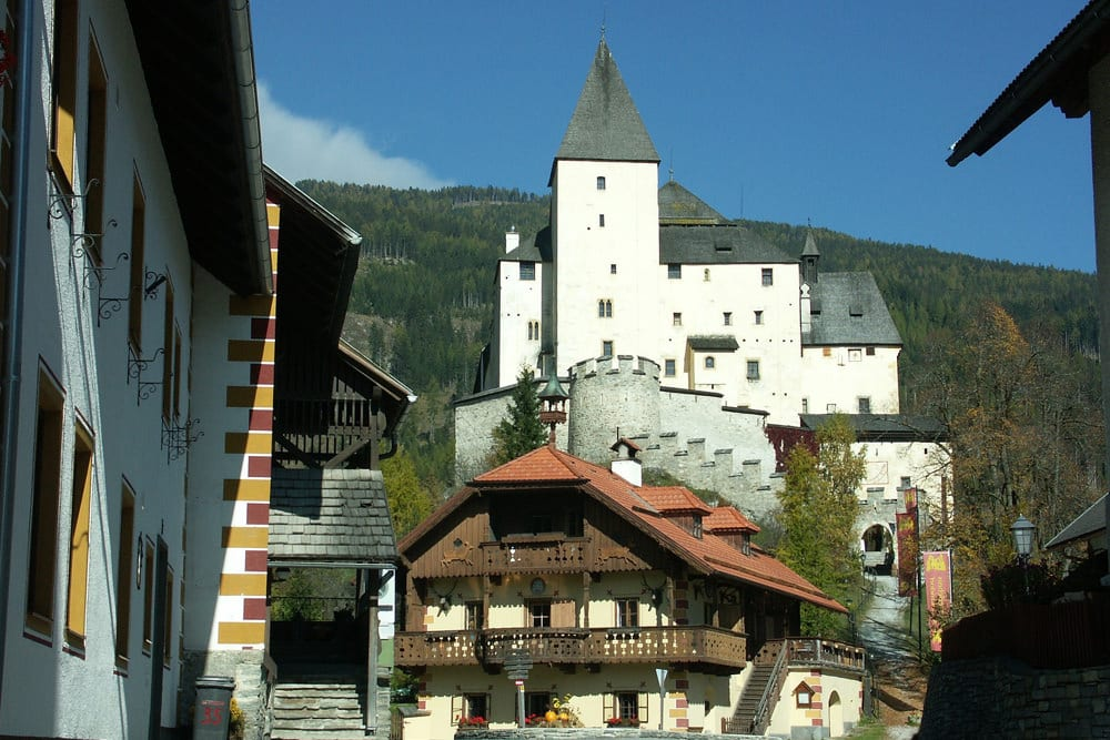 Blick auf Burg Mauterndorf, Foto: atimedia / Pixabay