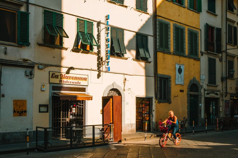Restaurant in Florenz