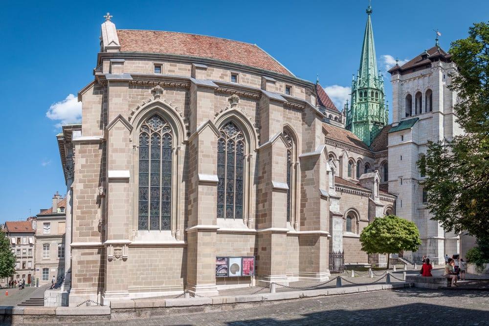 Cathédrale Saint Pierre in Genf