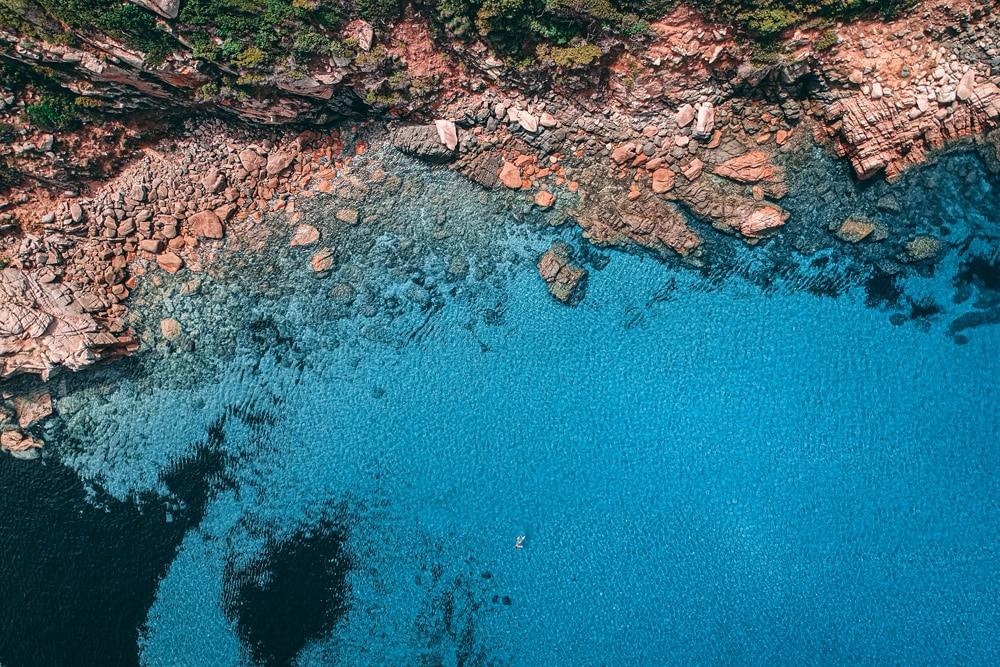 Sehenswürdigkeiten auf Korsika: Küste bei Sarténe