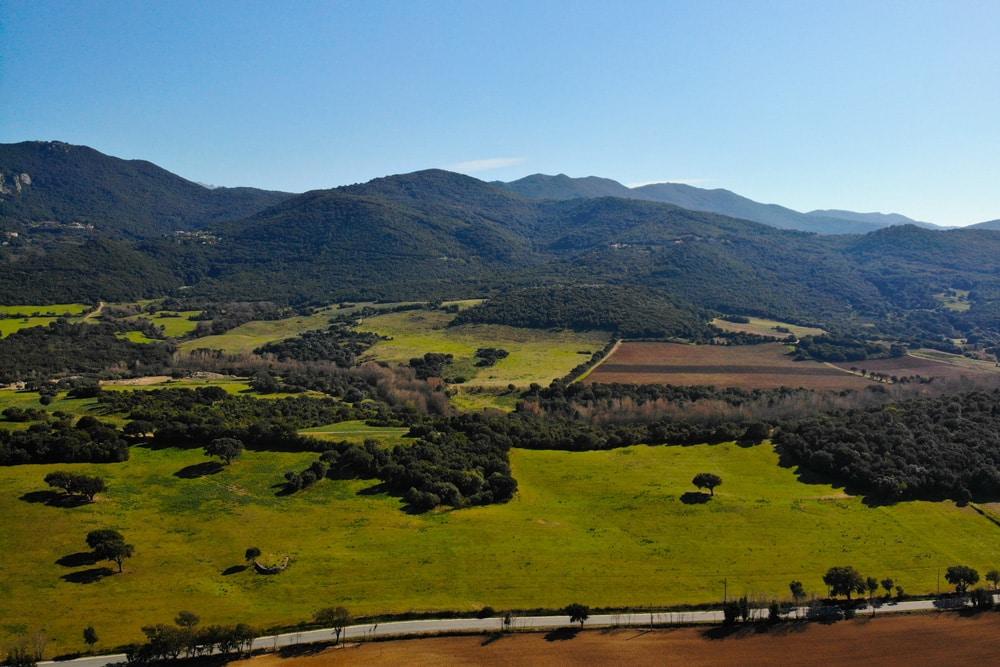 Sehenswürdigkeiten auf Korsika: Die Straße D268 nach Zonza