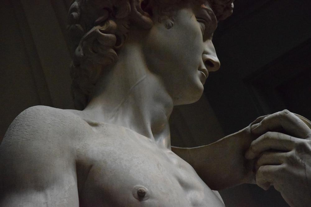 David von Michelangelo in Florenz