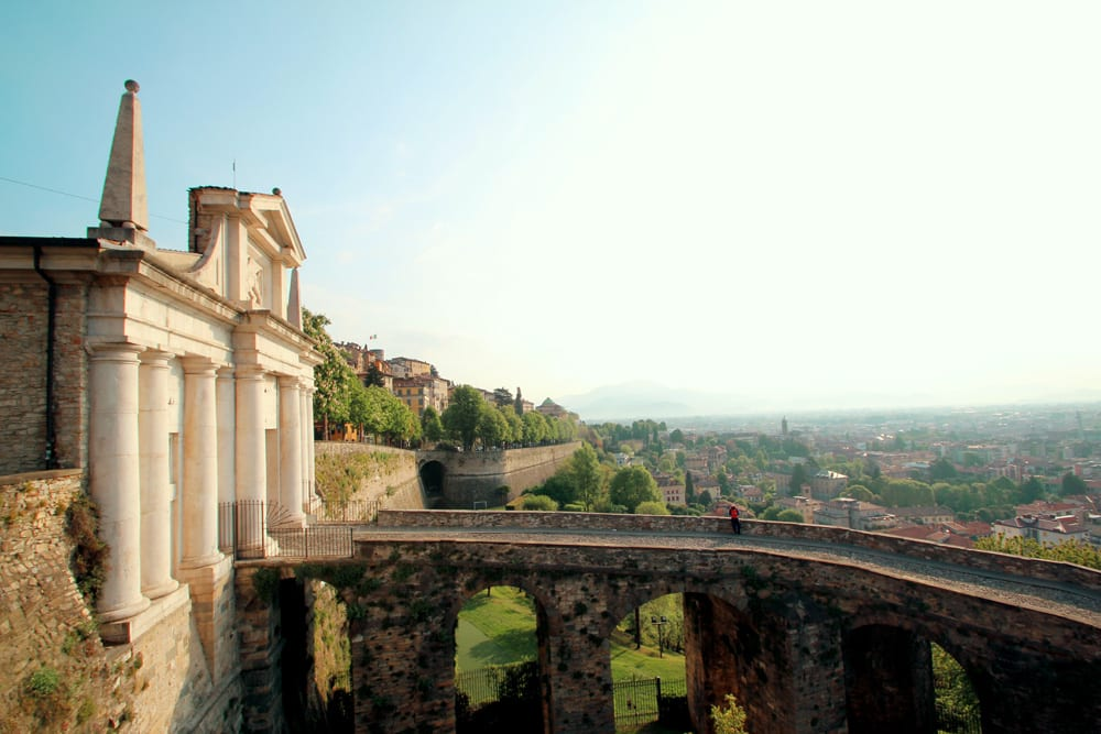Die Città Alta in Bergamo ist definitiv sehenswert, Foto: Mattia Bericchia / Unsplash