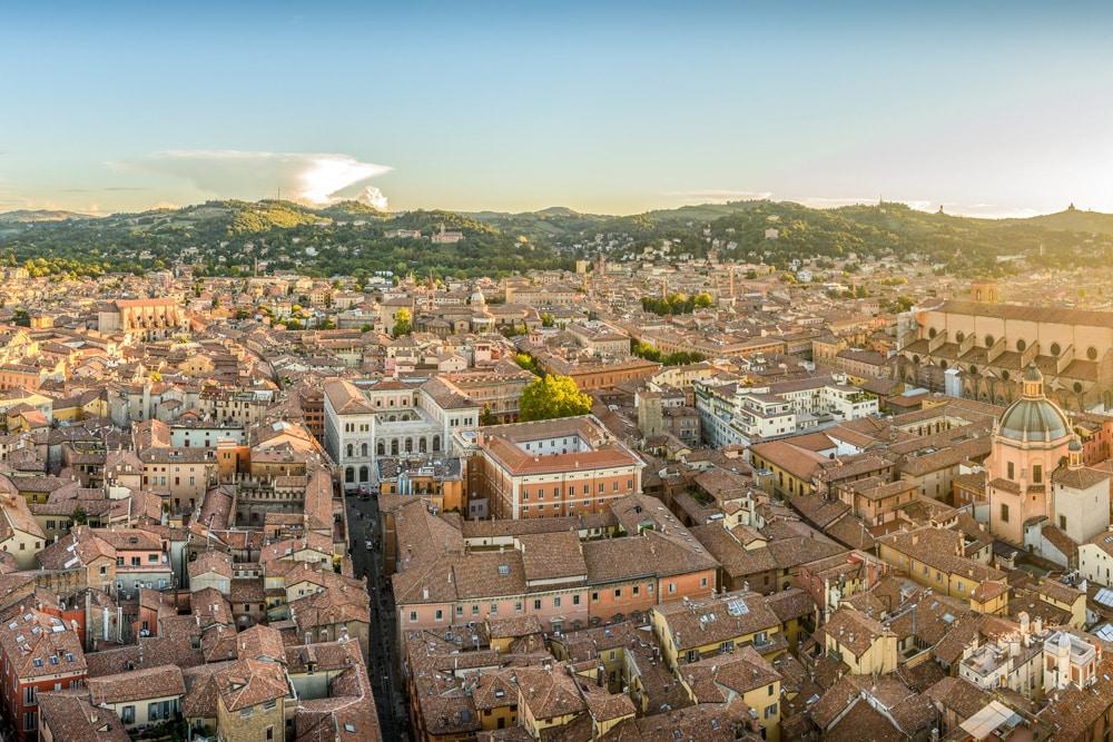 Blick auf Bologna, Foto: Felix M. Dorn / Unsplash