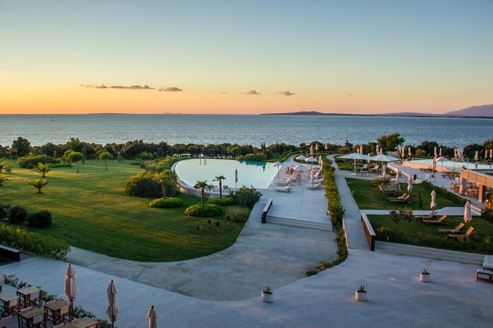 Eins der vielen Spa-Hotels in Zadar, Foto: Bas van den Eijkhof / Unsplash