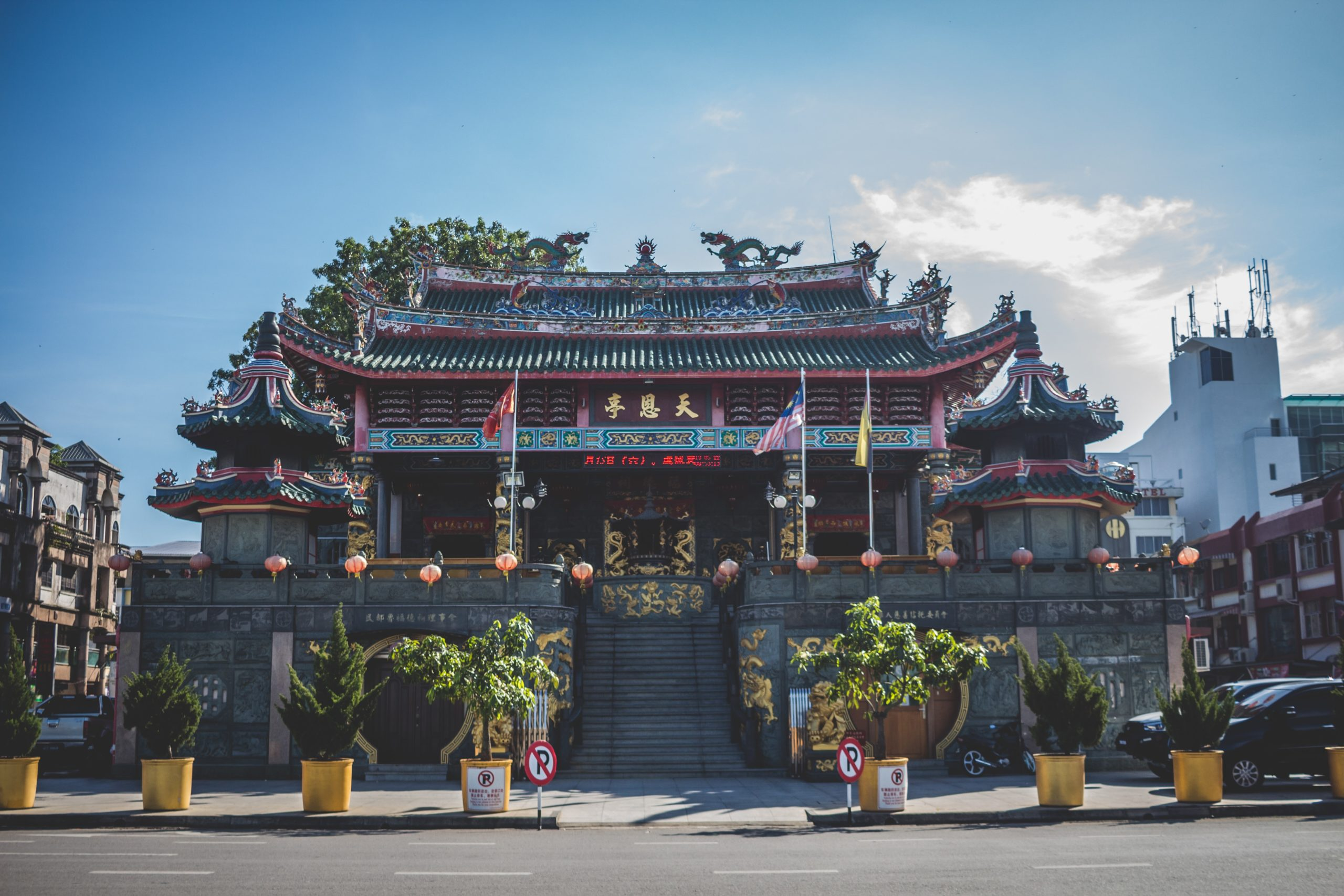 Tempel Tua Pek Kong auf Borneo