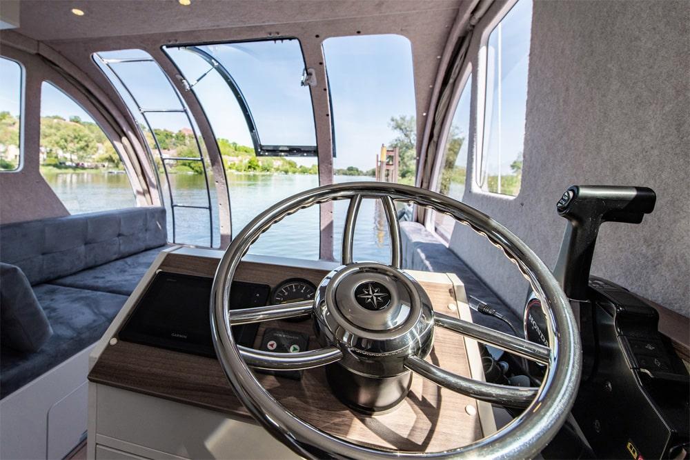 Im inneren des Caravanboats, Foto: Tchibo GmbH