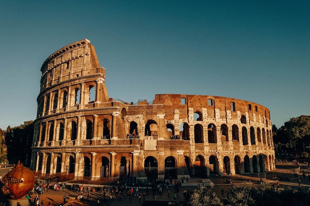 Das berühmte Kolosseum von Rom, Foto: Daniela Hinz
