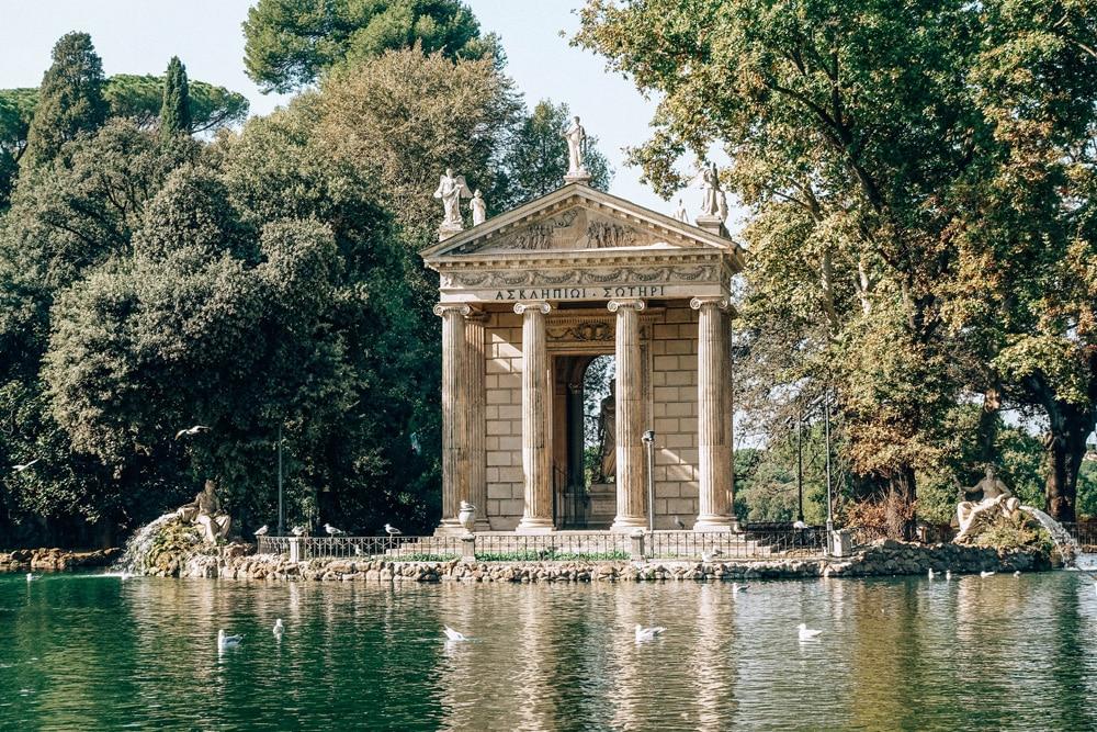 Ein Spaziergang durch den Park der Villa Borghese lohnt sich, Foto: Daniela Hinz
