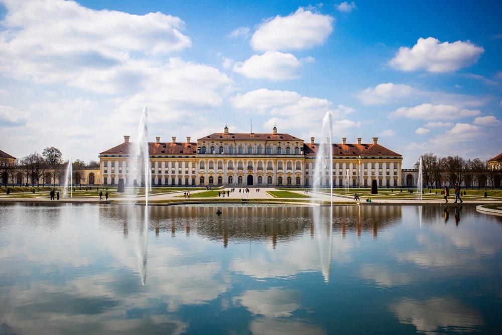 Die Parkanlage von Schloss Schleißheim, Foto: Periklis Lolis / Unsplash