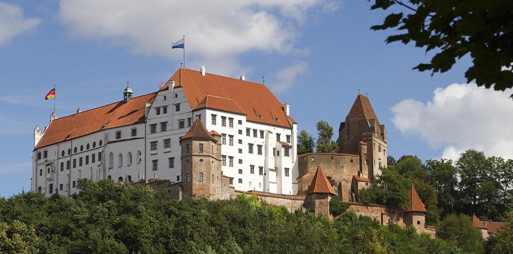 Die prächtige Burg Trausnitz, Foto: Alf Mayer / Pixabay