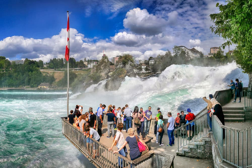 Der Rheinfall bei Schaffhausen, Foto: Albrecht Fietz / Pixabay