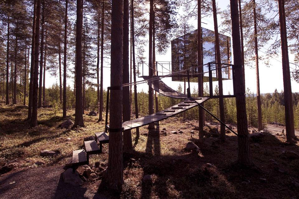 """The Mirrorcube"", Foto: Treehotel"