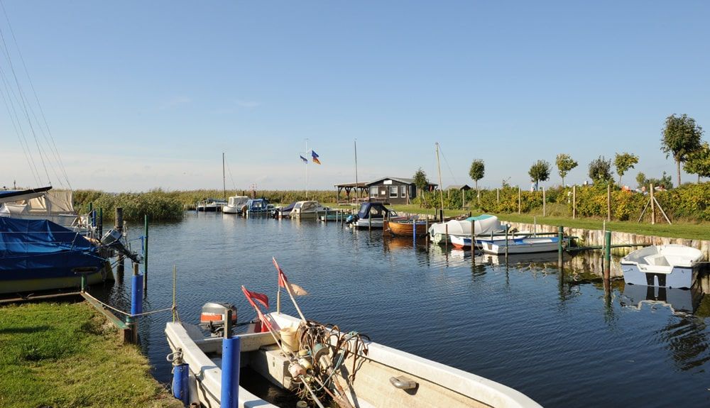 Hafen von Loddin, Foto: fotograupner / Adobe Stock