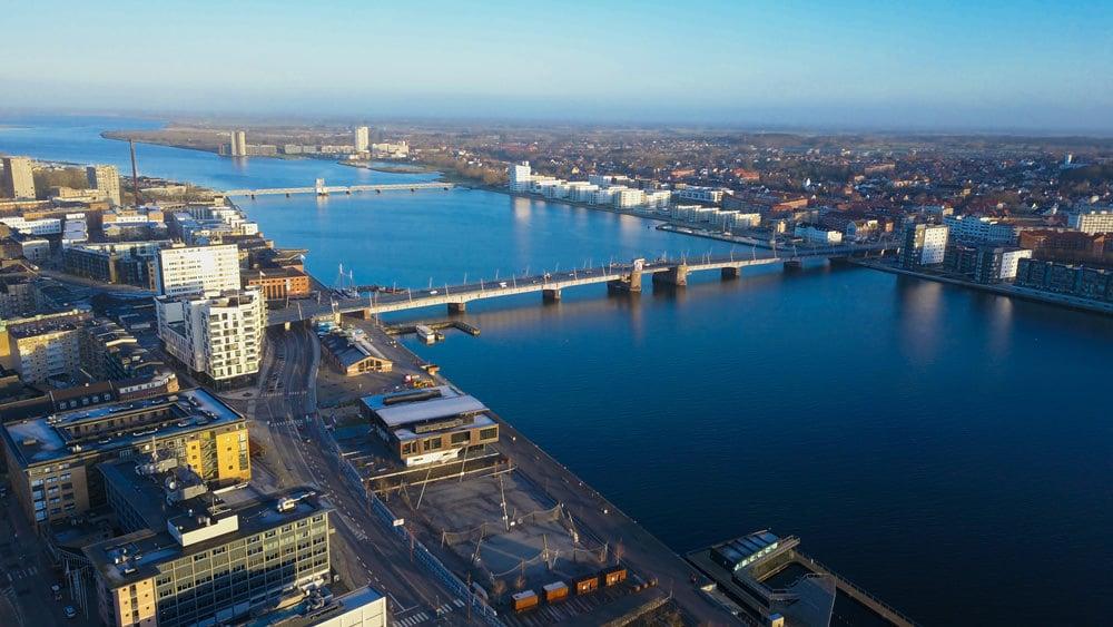 Blick auf Aalborg, Foto: Rahbek Media / Unsplash