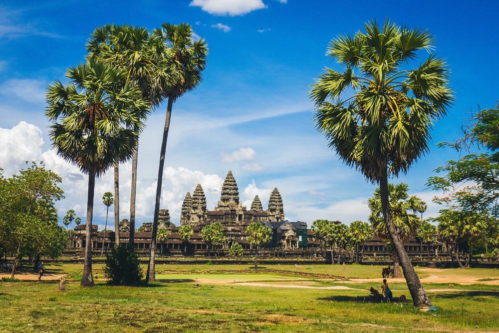 Die Tempelanlage Angkor Wat in Kambodscha, Foto: George Bakos / Unsplash
