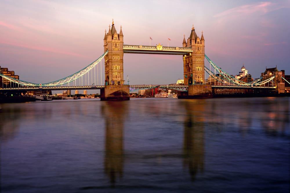 Die berühmte Tower Bridge in London, Foto: Johannes Plenio / Unsplash