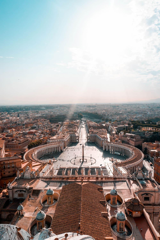 Blick auf die Vatikanstadt, Foto: Jae Park / Unsplash
