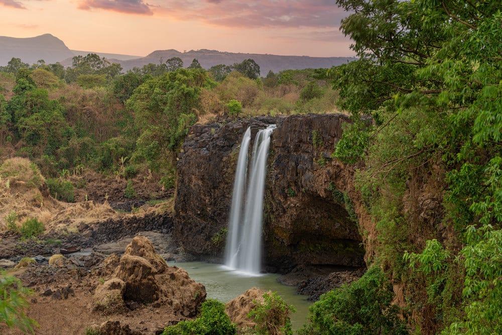 Tisissat-Wasserfall in Äthiopien, Foto: ArtushFoto / Adobe Stock