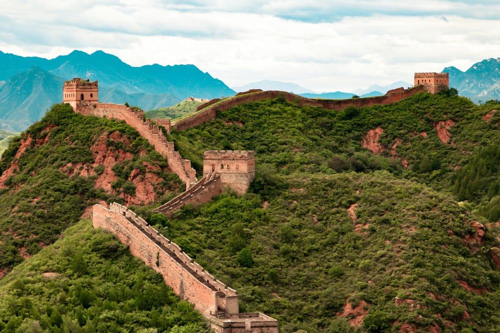 Die Chinesische Mauer - eine wahre Bauleistung, Foto: William Olivieri / Unsplash