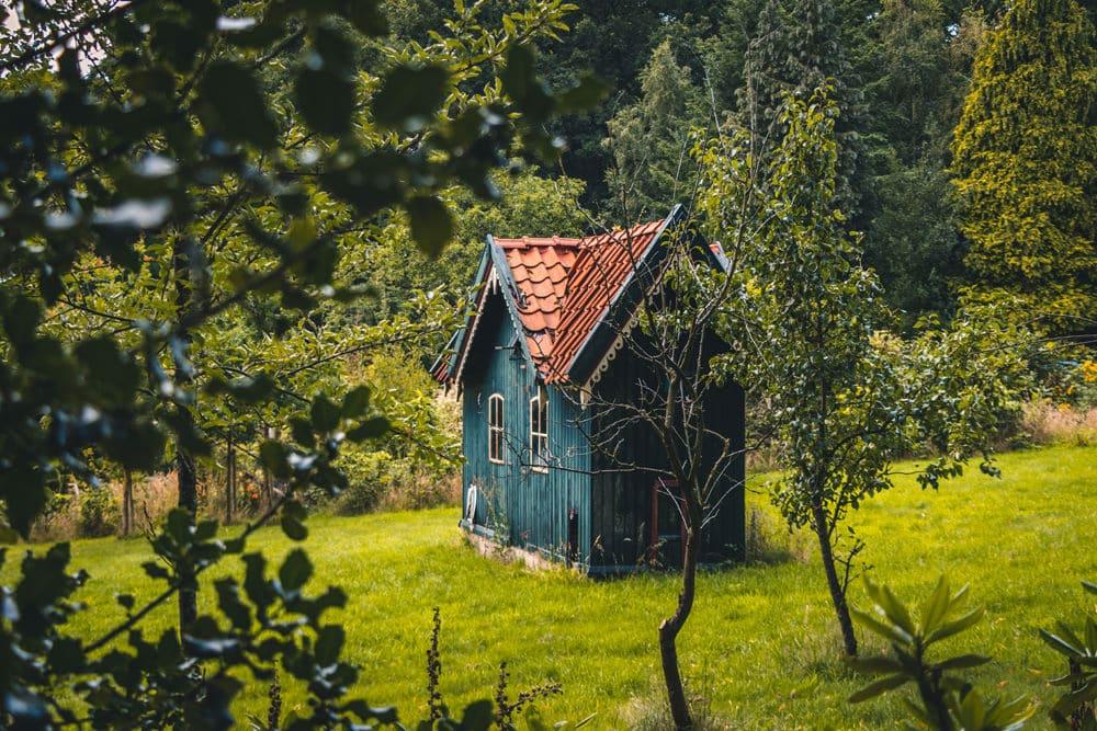 Eine kleine Hütte im Nationalpark De Hoge Veluwe, Foto: Arwin Basdew / Unsplash