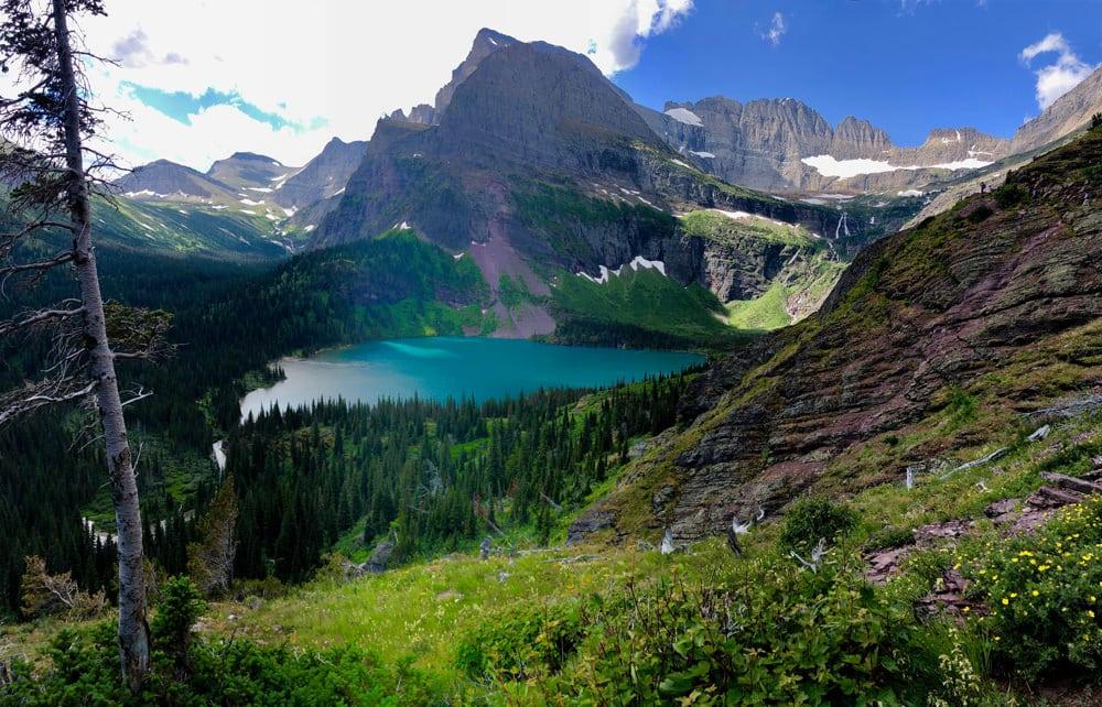 Natur pur: der Glacier National Park, Foto: Justin Pritchard / Unsplash