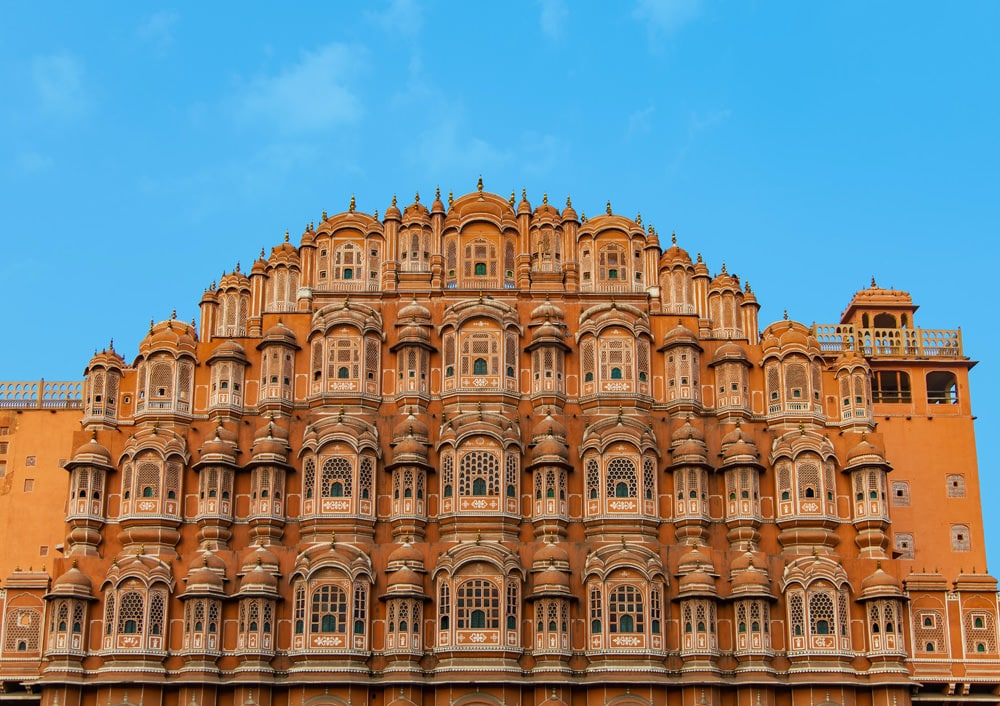 Hawa Mahal - der Palast der Winde in Jaipur, Foto: Roberto Reposo / Unsplash