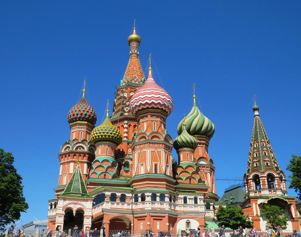 Die Basilius-Kathedrale am Roten Platz, Foto: Anastasiya Romanova / Unsplash
