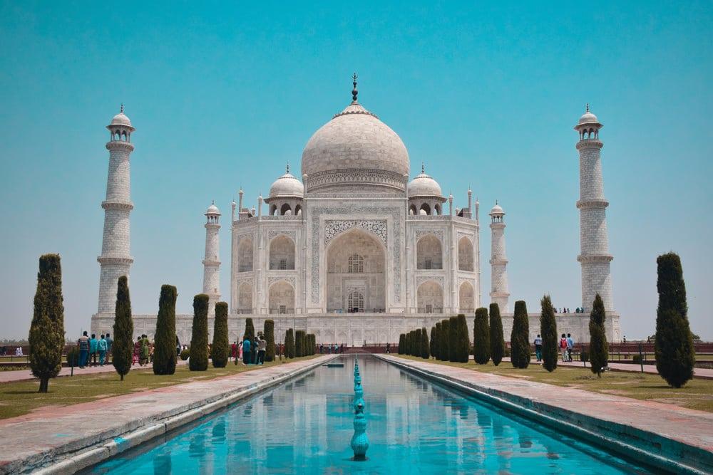 Das Taj Mahal - das wohl schönste Grabmal der Welt, Foto: Jovyn Chamb / Unsplash