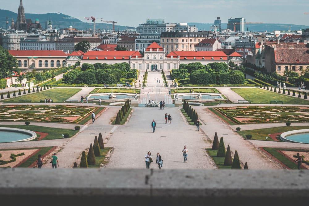 Schloss Belvedere in Wien, Foto: daniel plan / Unsplash