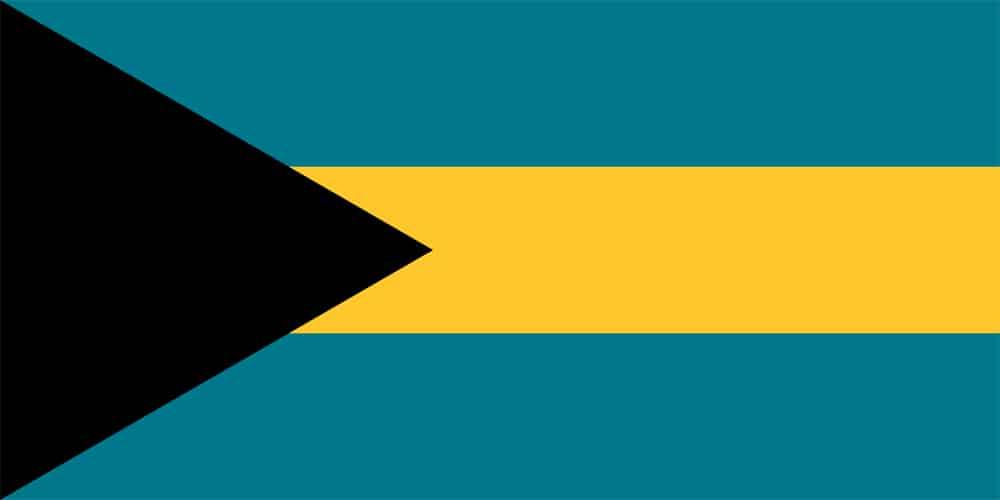 Flagge der Bahamas
