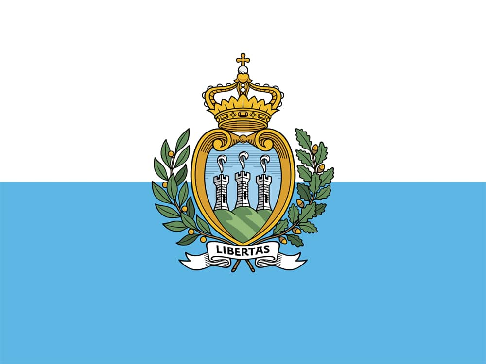 Flagge von San Marino