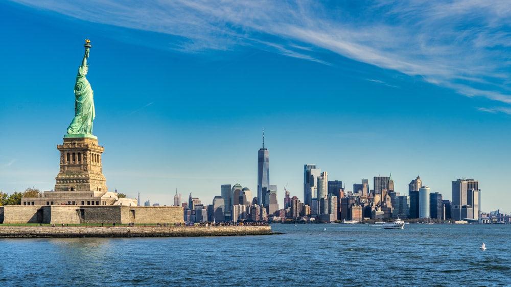 Die Freiheitsstatue vor New York, Foto: Pierre Blaché / Unsplash