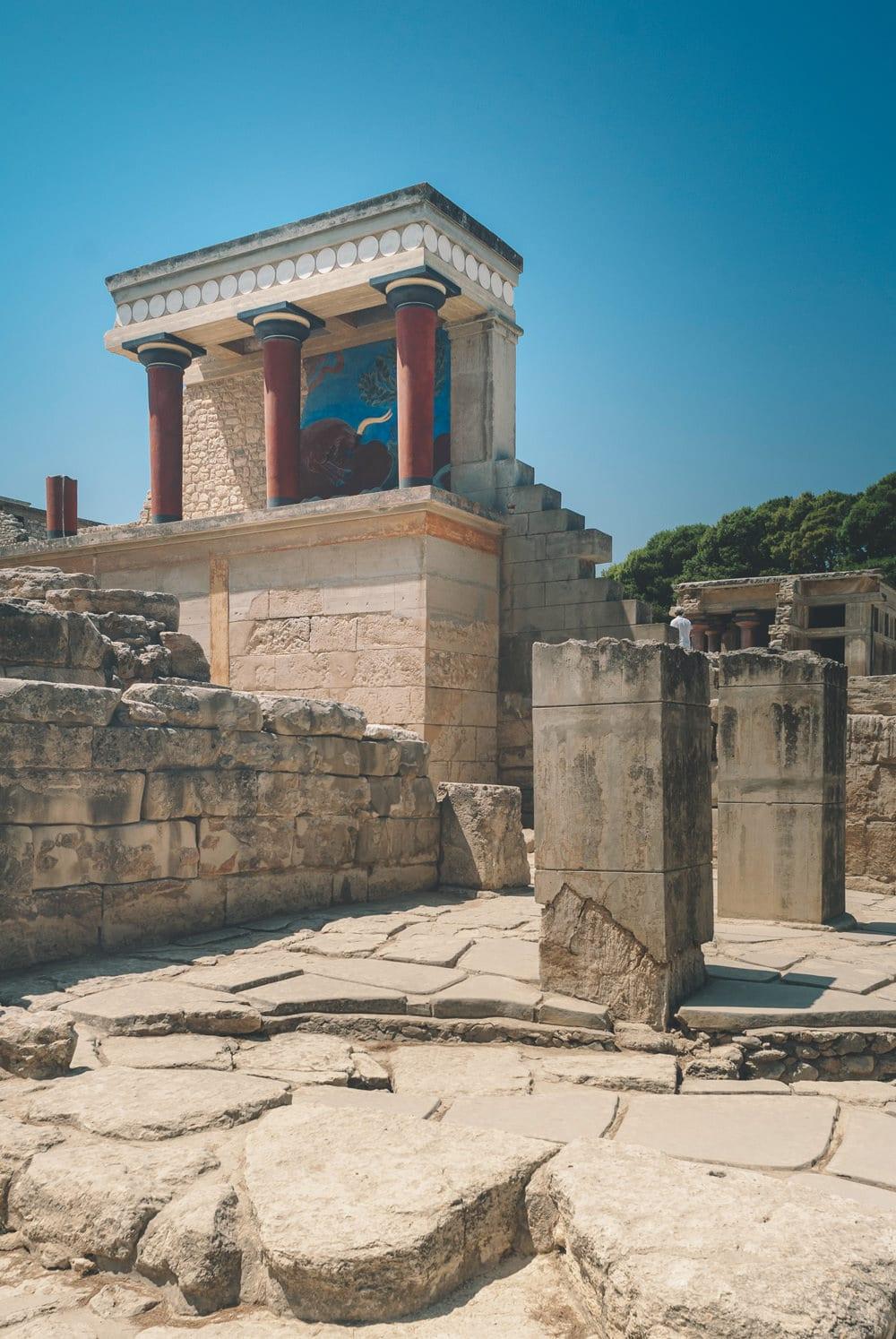 Knossos - eine der historischen Stätten auf der Insel, Foto: Egor Myznik/ Unsplash