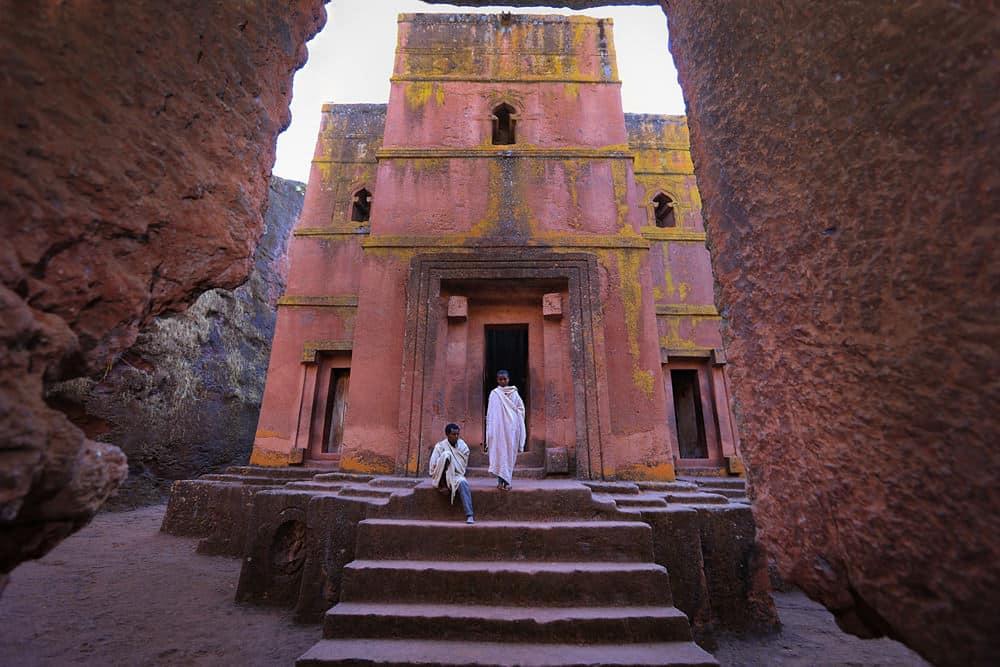 Felsenkirche in  Lalibela, Foto: mulugeta wolde/ Unsplash
