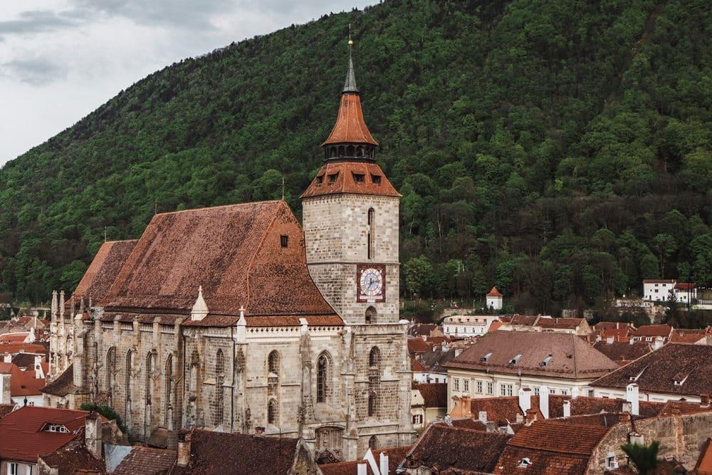 Die Schwarze Kirche in Brasov, Foto: Maria Teneva/ Unsplash