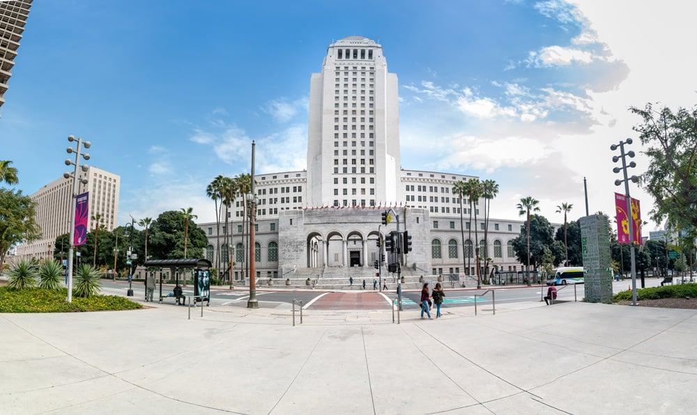 Die City Hall von Los Angeles, Foto: David Vives/ Unsplash
