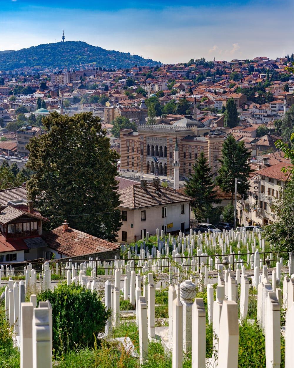 Blick auf Sarajevo, Foto: Darcey Beau/ Unsplash