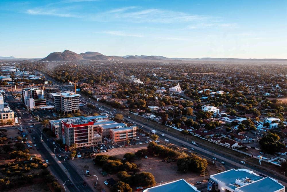Blick auf Gaborone - der Hauptstadt Botsuanas, Foto: Justice Hubane/ Unsplash